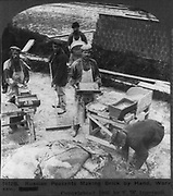 Russian Brick makers circa 1905
