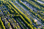 Nederland, Noord-Holland, gemeente Wijdemeren, 13-06-2017; Oud-Loosdrecht, chaletpark Smalland, recreatiepark met jachthaven.<br /> Marina and recreational housing.<br /> luchtfoto (toeslag op standard tarieven);<br /> aerial photo (additional fee required);<br /> copyright foto/photo Siebe Swart