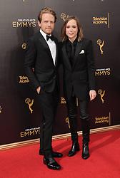 Ian Daniel, Ellen Page bei der Ankunft zur Verleihung der Creative Arts Emmy Awards in Los Angeles / 110916 <br /> <br /> *** Arrivals at the Creative Arts Emmy Awards in Los Angeles, September 11, 2016 ***