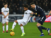 Football - 2018 / 2019 Sky Bet EFL Championship - Swansea City vs. Millwall<br /> <br /> Wayne Routledge of Swansea City on the ball, at The Liberty Stadium.<br /> <br /> COLORSPORT/WINSTON BYNORTH