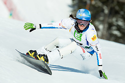 Julia Dujmovits of Austria competes during Elimination of the Ladies' Parallel Giant Slalom at FIS World Championships of Snowboard and Freestyle 2015, on January 23, 2015 at the WM Piste in Lachtal, Austria. Photo by Vid Ponikvar / Sportida