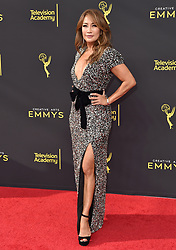 2019 Creative Arts Emmy Awards. Microsoft Theater, Los Angeles, California. EVENT September 14, 2019. 14 Sep 2019 Pictured: Carrie Ann Inaba. Photo credit: AXELLE/BAUER-GRIFFIN / MEGA TheMegaAgency.com +1 888 505 6342