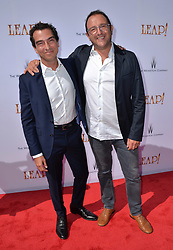 Yann Zenou and Laurent Zeitoun attend the Weinstein Company's LEAP! premiere at the Grove Theatre on August 19, 2017 in Los Angeles, California. Photo by Lionel Hahn/AbacaPress.com