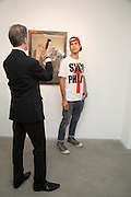 DAVID CROLAND; LUCA MARCHETTO; , Fashion Show: Robert Mapplethorpe. Alison Jacques Gallery. Berners St. London. 10 September 2013