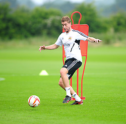 Bristol City's Steven Davies - Photo mandatory by-line: Dougie Allward/JMP - Tel: Mobile: 07966 386802 28/06/2013 - SPORT - FOOTBALL - Bristol -  Bristol City - Pre Season Training - Npower League One