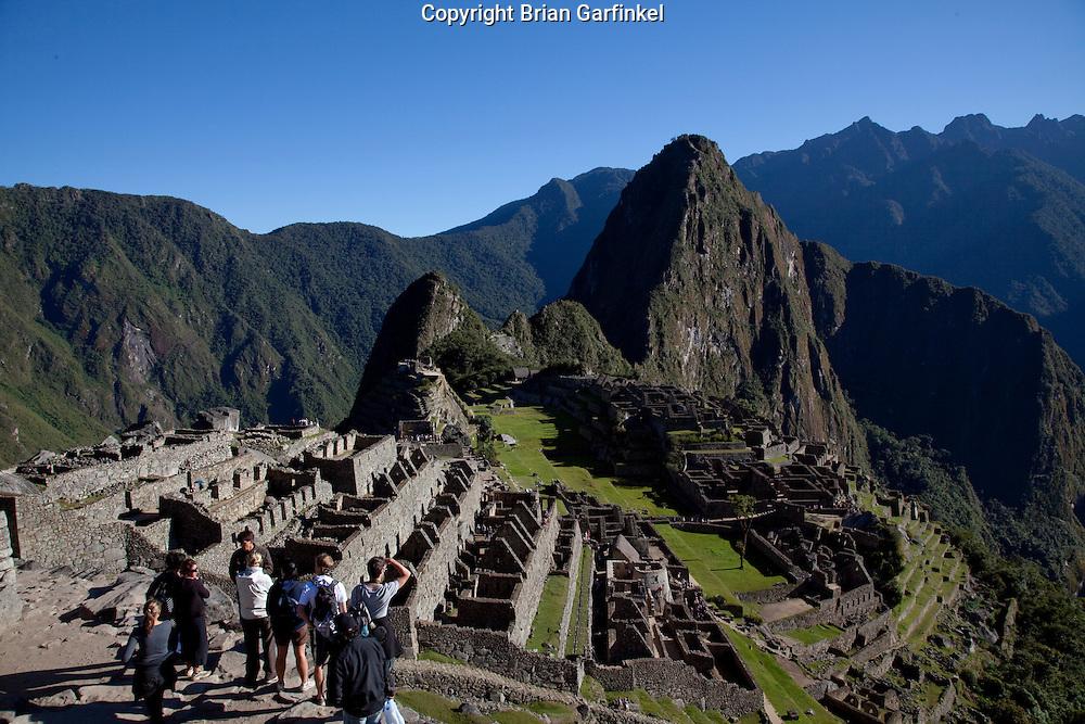 A view of the Inca's Machu Picchu