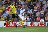 Matty Done shoots during the EFL Sky Bet League 1 match between Burton Albion and Rochdale at the Pirelli Stadium, Burton upon Trent, England on 4 August 2018.