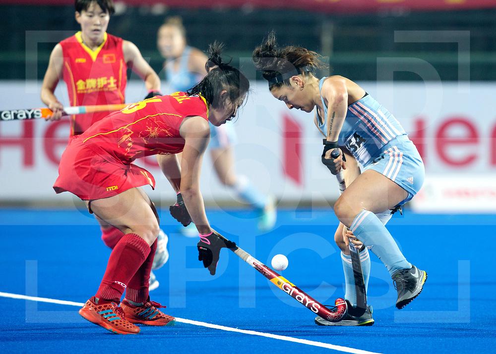 CHANGZHOU WUJIN Wanglibao Hockey Champions Trophy<br /> Argentina v China (3rd/4th Place)<br /> Foto: Maria-Jose Granatto <br /> WORLDSPORTPICS COPYRIGHT RODRIGO JARAMILLO