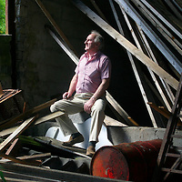 J.J McCabe pictured at home near land that he sold for 18.5 millon Euro. pic Sean Curtin Press 22.