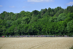July 4, 2017 - Mondorf Les Bains / Vittel, Luxembourg / France - VITTEL, FRANCE - JULY 4 : Illustration picture of the peloton during stage 4 of the 104th edition of the 2017 Tour de France cycling race, a stage of 207.5 kms between Mondorf-Les-Bains and Vittel on July 04, 2017 in Vittel, France, 04/07/2017 (Credit Image: © Panoramic via ZUMA Press)
