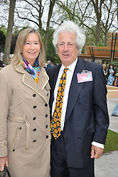 SIR MARTYN & LADY ARBIB at the 2013 RHS Chelsea Flower Show held in the grounds of the Royal Hospital, Chelsea on 20th May 2013.