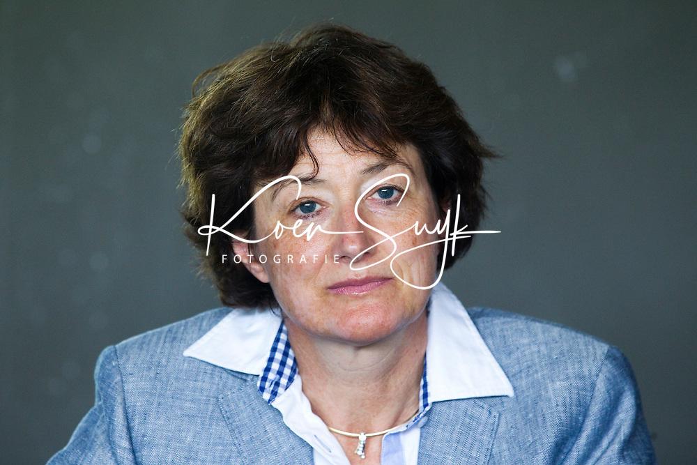 AMSTELVEEN -  Karin Pannekoek, voorzitter  van de Champions Trophy Hockey, die volgende week in Amstelveen begint. ANP COPYRIGHT KOEN SUYK