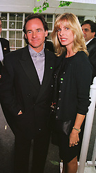 MR & MRS BARRY SHEAN he is the former world champion motorbike racing champion, at a party in London on 5th June 1999.MSX 26