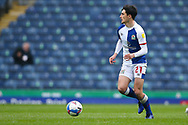 Blackburn Rovers midfielder John Buckley (21) during the EFL Sky Bet Championship match between Blackburn Rovers and Birmingham City at Ewood Park, Blackburn, England on 8 May 2021.