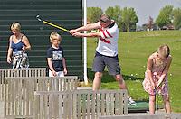 ZAANDAM - Open Golfdagen op de Zaanse Golf Club. FOTO KOEN SUYK