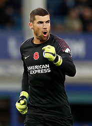Brighton & Hove Albion goalkeeper Mathew Ryan