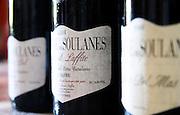 Cuvee Bastoul Laffite. Domaine des Soulanes, Fenouilledes, Tautavel. Roussillon. France. Europe. Bottle.