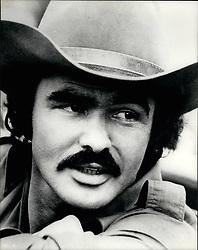 1977 - Burt Reynolds on set for 'Smokey and the Bandit.' (Credit Image: © Keystone Pictures USA/ZUMAPRESS.com)