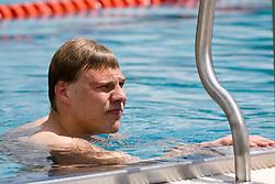 Dinko Jukic of Austria during the 35th International Swimming meeting Ljubljana 2010, on May 23, 2010 at Kodeljevo pool, Ljubljana, Slovenia. (Photo by Vid Ponikvar / Sportida)