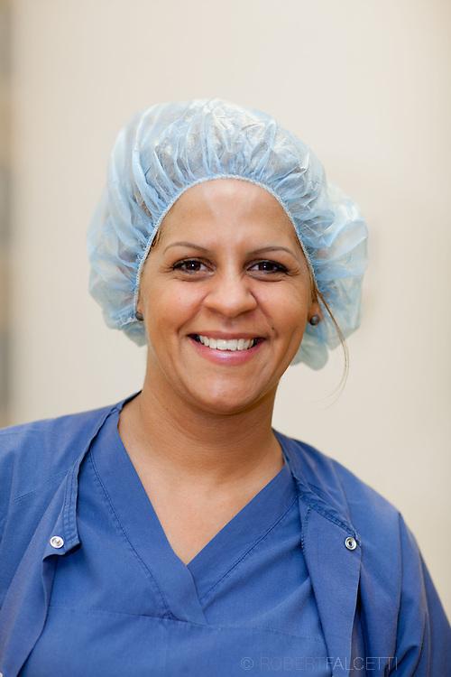 STMH-Naugatuck Valley Surgical Center-Teresa LaBarbera, Dr. Peter LaBarbera. (Photo by Robert Falcetti)