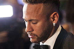 July 19, 2018 - SãO Paulo, Brazil - SÃO PAULO, SP - 19.07.2018: INSTITUTO NEYMAR JR REALIZA LEILAO - The Neymar Jr Project Institute holds, for the second consecutive year, the charity auction for the institution's socio-educational activities. In this issue, the hosts of evening, Ne, Neymar Jr. and his family, welcomed about 700 guests among athletes, celebrities and business people. The big news of the night was the 25 lots auctioned, presented by five celebrities. In the highlight the PSG player Neymar Jr grants interviews to the journalists attending the event. (Credit Image: © Emerson Santos/Fotoarena via ZUMA Press)