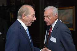 """Maurice R. """"Hank"""" Greenberg Reception at 21 Club NYC 18 Sept 2007 Honoring the endowment of the David Boies Professorship of Law at Yale Law School"""