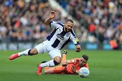 March 9, 2019 - West Bromwich, England, United Kingdom - Matt Phillips of West Bromwich Albion tackled by Cole Skuse of Ipswich Town  during the Sky Bet Championship match between West Bromwich Albion and Ipswich Town at The Hawthorns, West Bromwich on Saturday 9th March 2019. (Credit Image: © Leila Coker/NurPhoto via ZUMA Press)