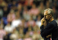 Fotball<br /> Foto: SBI/Digitalsport<br /> NORWAY ONLY<br /> <br /> Date: 31/08/2004.<br /> Reading v Sunderland Coca - Cola Championship.<br /> <br /> Mick McCarthy looks unhappy at another defeat for Sunderland.
