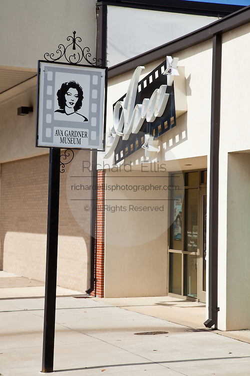 Ava Gardner museum in Smithfield, North Carolina.