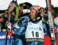 ◊Copyright:<br />GEPA pictures<br />◊Photographer:<br />Franz Pammer<br />◊Name:<br />Kjus<br />◊Rubric:<br />Sport<br />◊Type:<br />Ski alpin<br />◊Event:<br />FIS Weltcup, RTL der Herren<br />◊Site:<br />Beaver Creek, Colorado, USA<br />◊Date:<br />04/12/04<br />◊Description:<br />Aksel Lund Svindal,  Lasse Kjus (NOR)<br />◊Archive:<br />DCSPA-041204120<br />◊RegDate:<br />04.12.2004<br />◊Note:<br />8 MB - SU/KI