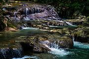 Pristine Mayfield Falls in Jamaica.