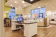 Photo: Randy Vanderveen<br /> Grande Prairie, Alberta<br /> 11/9/2013<br /> Aurora Eye Care office at 9920-92 Street, Grande Prairie, Alberta for Barbara Wright Design, Smyrna TN
