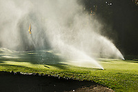 LOCHEM - Sprinklers , Herfst op de Lochemse Golfclub, De Graafschap. COPYRIGHT KOEN SUYK