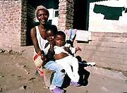 Family in Duban, South Africa