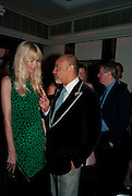 CLAUDIA SCHIFFER; CHRISTIAN LOUBATAIN, Dinner hosted by editor of British Vogue, Alexandra Shulman in association with Net-A-Porter.com in honour of 25 years of London Fashion Week and Nick Knight. Caprice. London.  September 21, 2009