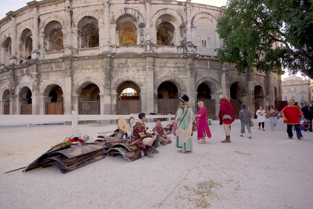 Southern France Nimes, Roman Arena, Gladiators