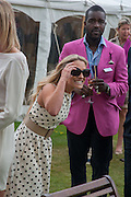 GEORGIE THOMPSON; ORLANDO HAMILTON, The Cartier Style et Luxe during the Goodwood Festivlal of Speed. Goodwood House. 1 July 2012.