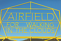 "Airfield for walking in the clouds<br /> by: Weld Queen<br /> from: Moscow, Russia<br /> year: 2019<br /> <br /> ""Airfield for walking in the clouds"" is a model of a fantasy airfield with ten dream-liners ""Armchairs for walking in the clouds.""<br /> The project is a large-scale interactive installation where people will be sitting and swinging in the ""Armchairs for walking in the clouds"" where they will be able to ""break away"" from the ground and be closer to their dreams. ""Airfield for walking in the clouds"" is a place where people can go on their own journey into the depths of their inner space.<br /> <br /> URL: http://weldqueen.com/project/airfield-for-walking-in-the-clouds/<br /> Contact: info@weldqueen.com<br /> <br /> https://burningman.org/event/brc/2019-art-installations/?yyyy=&artType=B#a2I0V000001TAiBUAW"
