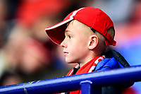 A Fleetwood Town fan looks on<br /> <br /> Photographer Richard Martin-Roberts/CameraSport<br /> <br /> The EFL Sky Bet League One - Bolton Wanderers v Fleetwood Town - Saturday 2nd November 2019 - University of Bolton Stadium - Bolton<br /> <br /> World Copyright © 2019 CameraSport. All rights reserved. 43 Linden Ave. Countesthorpe. Leicester. England. LE8 5PG - Tel: +44 (0) 116 277 4147 - admin@camerasport.com - www.camerasport.com