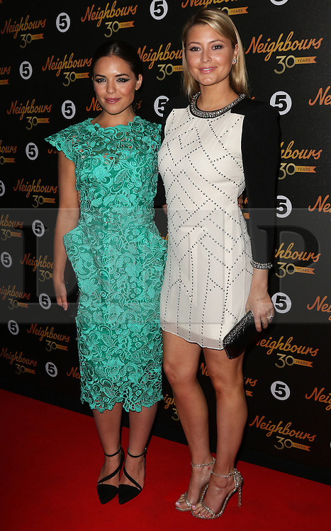 © Licensed to London News Pictures. 17/03/2015, UK. Olympia Valance, Holly Valance, Neighbours 30th Anniversary, Café De Paris, London UK, 17 March 2015,. Photo credit : Richard Goldschmidt/Piqtured/LNP