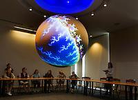 St Paul's School Science Sphere Lab.  Karen Bobotas Photographer
