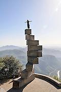 L'Escala de l'Enteniment (The Scale of Understanding) by Ramon Llull at Montserrat Abbey, Catalonia, Spain