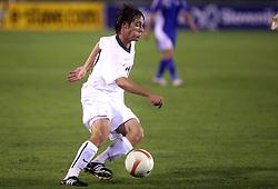 Damjan Trifkovic of Slovenia during the Qualifications for UEFA U-21 EC 2009 soccer match between Slovenia and Finland at Velenje stadion At lake, on September 9,2008, in Velenje, Slovenia.  (Photo by Vid Ponikvar / Sportal Images)