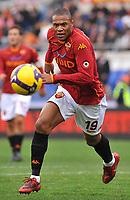 Fotball<br /> Italia<br /> Foto: Inside/Digitalsport<br /> NORWAY ONLY<br /> <br /> Julio Baptista (Roma)<br /> <br /> 08.02.2009<br /> Roma v Genoa