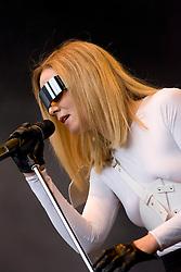 Roisin Murphyn plays the main stage, Saturday, Sat 2 Aug 2008 at Live @ Loch Lomond.