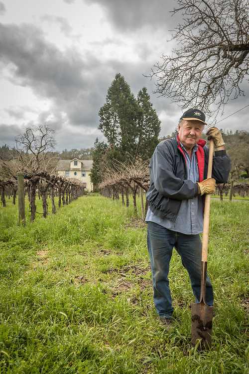 """""""We've got 3.5 acres...just a small portion of the original Cyrus ranch. We grow cabernet grapes and serve our own wine to our guests."""" -Bear Flag Inn owner Denise McNay, on Foothill Blvd. in Calistoga."""