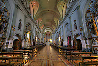 Inside of Church, near Plaza de Mayo in Buenos Aires, Argentina, this Church is tourist attraction.