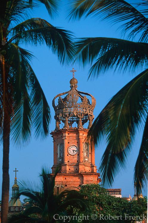 MEXICO, PACIFIC, TOURISM Puerto Vallarta; Church of Guadalupe