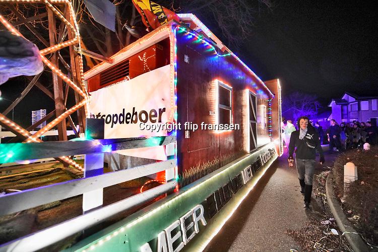 Nederland, Alphen, 22-2-2020 Lichtjes optocht .Foto: Flip Franssen