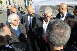 May 24, 2019 - Arzano, Campania/Napoli, Italy - Nicola Morra, politician of the M5S, president of the anti-mafia commission. (Credit Image: © Salvatore Esposito/Pacific Press via ZUMA Wire)